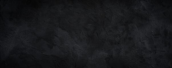 Black or dark gray rough grainy stone texture background