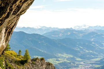 Obraz Fantastic view of the Alps. - fototapety do salonu