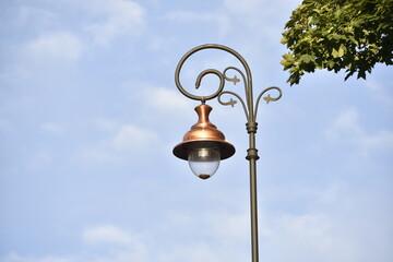 Fototapeta Uliczna lampa obraz