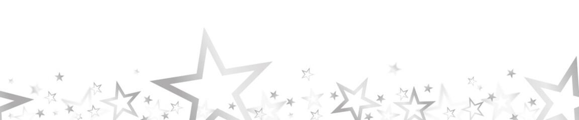 Fototapeta christmas banner with colored stars obraz