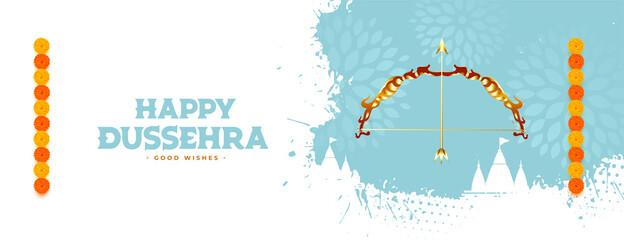 Fototapeta happy dussehra traditional festival card design obraz