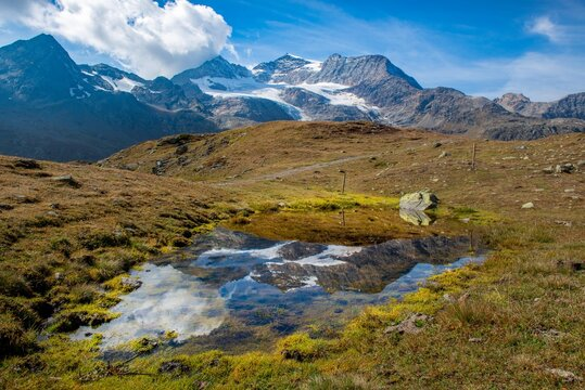 Bernina peak