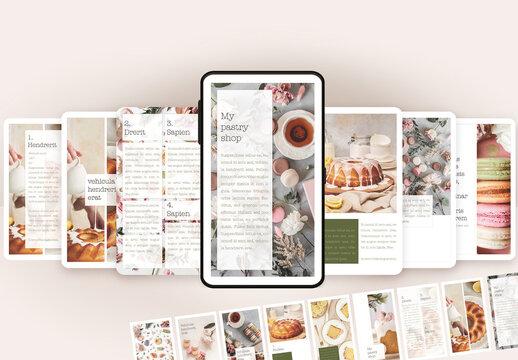 Social Media Pastry Minimal