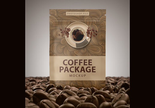 Coffe Package Mockup