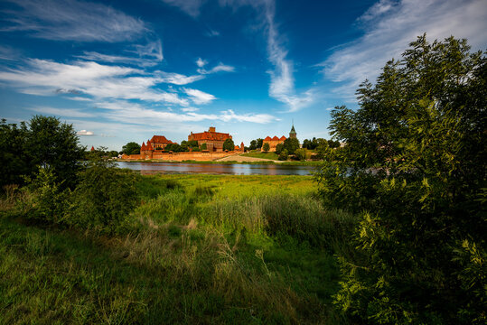 13th century Castle of the Teutonic Order in Malbork