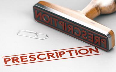 Obraz Délais de prescription d'un délit - fototapety do salonu