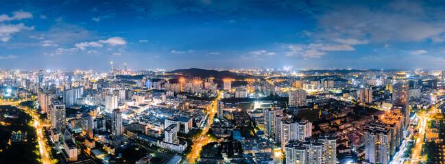 Fototapeta Night view of Nanning City, Guangxi, China obraz