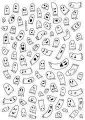 Obraz Geister - Halloween - fototapety do salonu