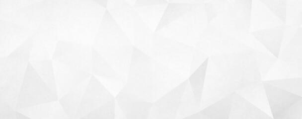 Fototapeta Abstract white geometric triangle background obraz