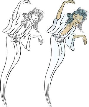 浮世絵 幽霊 その7