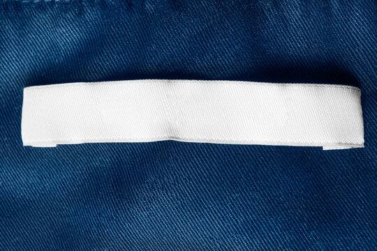 Blank clothing label