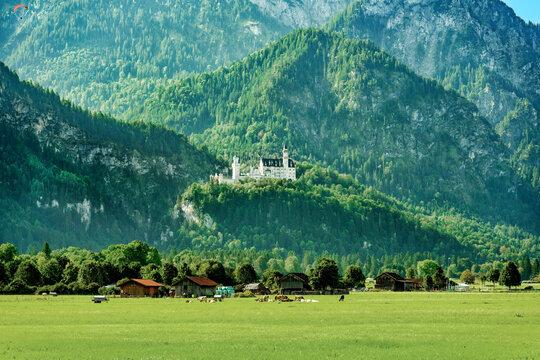 Kronjuwel in ländlichem Ambiente: Schloss Neuschwanstein