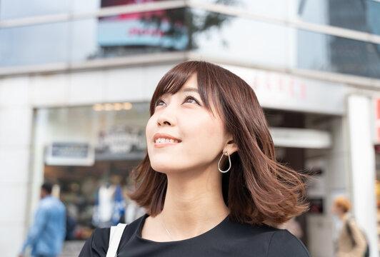 若い女性 渋谷