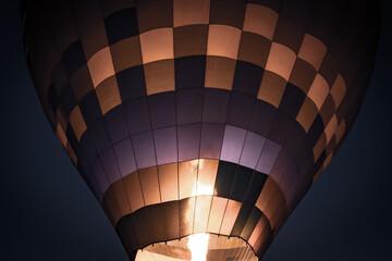 hot air balloon fire in Cappadocia