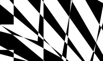 Obraz mystical black pattern with optical illusion dynamic and mystical - fototapety do salonu