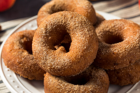 Sweet Homemade Apple Cider Donuts