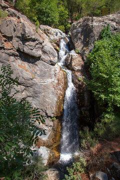 Stream in Ida Mountain, Beautiful nature. Turkey.