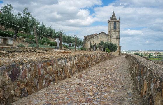 Santiago Church, now Roman Theatre Visitor Centre. Medellin, Extremadura