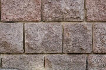 Ściana elewacyjna z cegły