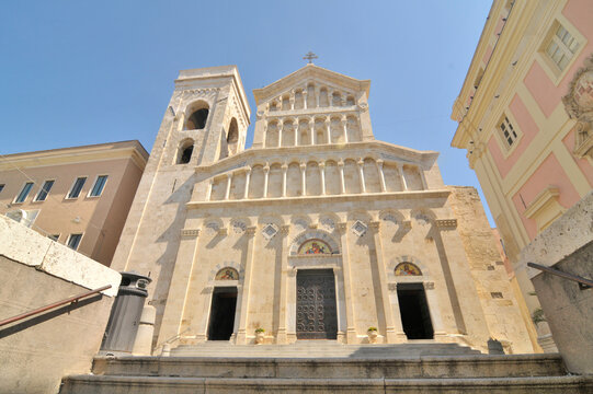 Cagliari Cathedral  - Roman Catholic cathedral in Cagliari, Sardinia, Italy, dedicated to the Virgin Mary and to Saint Cecilia