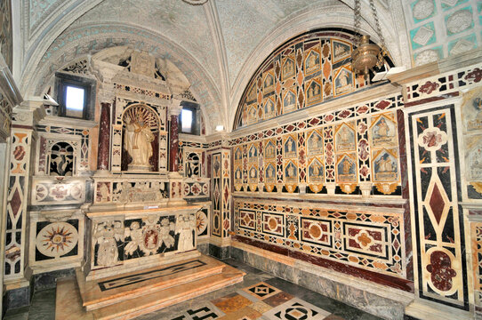 Cagliari - Crypt of Martyrs' in the Cathedral of Santa Maria, Sardinia