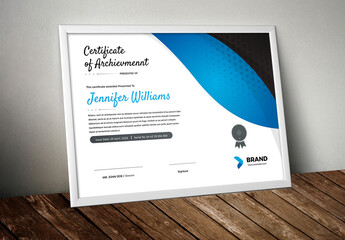 Fototapeta Modern  Certificate Layout obraz