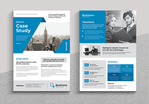 Business Case Study Layout