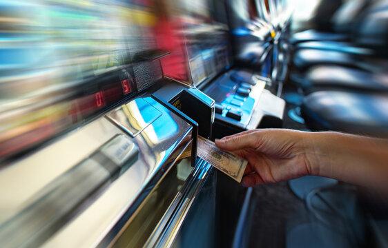 Money Spending and Gambling Theme