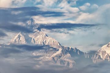 Fototapeta Annapurna Range in the Himalayas, Nepal obraz