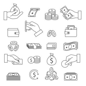 Loan payment icons