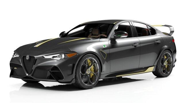 Alfa Romeo GTA prototype
