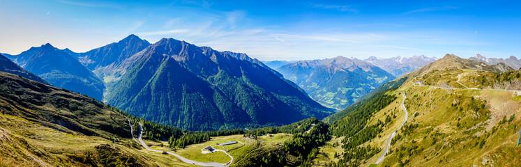 Obraz landscape at the Jaufenpass in Italy - fototapety do salonu