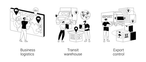 Obraz Transportation taxes abstract concept vector illustrations. - fototapety do salonu
