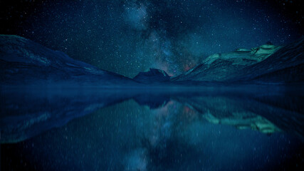 Fototapeta Stary Night obraz