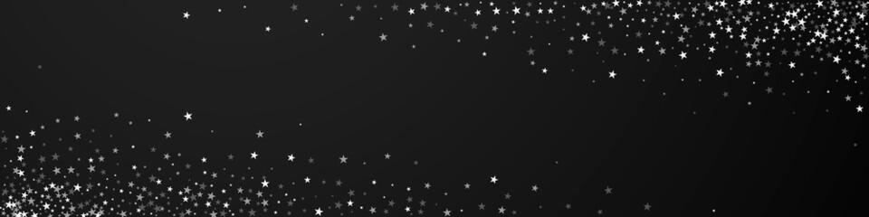 Fototapeta Amazing falling stars Christmas background. Subtle obraz