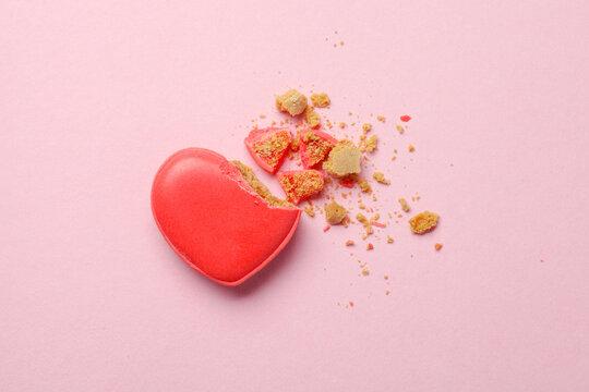 Broken heart, stress and divorce concept