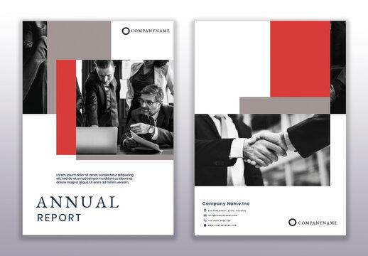 Professional Corporate Annual Report Design