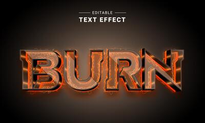 Obraz Neon Glow Editable Text Effect  - fototapety do salonu