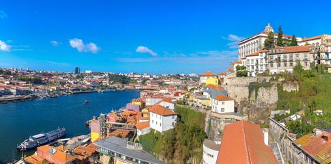 Obraz Panoramic view of Porto - fototapety do salonu