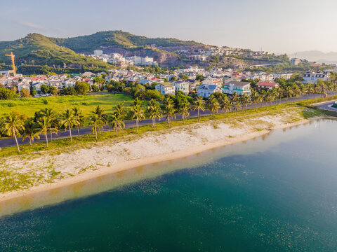 Beautiful, turquoise Paragon Beach, Nha Trang Vietnam