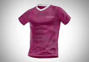 Fototapeta T-Shirt Mockup - Front View obraz