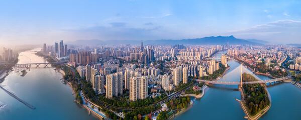 Cityscape of Fuzhou City, Fujian Province, China