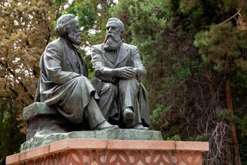 Obraz Marx et Engels - fototapety do salonu