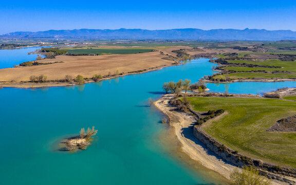 Sotonera reservoir Huesca