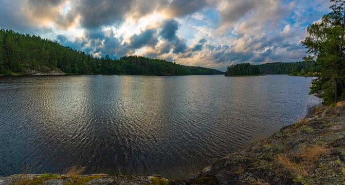 Vansjo Lake Norway South East side