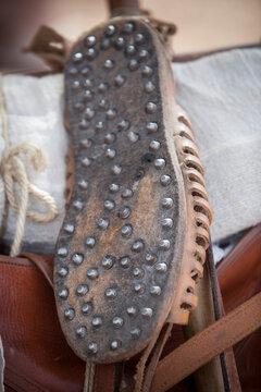 Caliga reproduction, Roman legionary foot-soldiers
