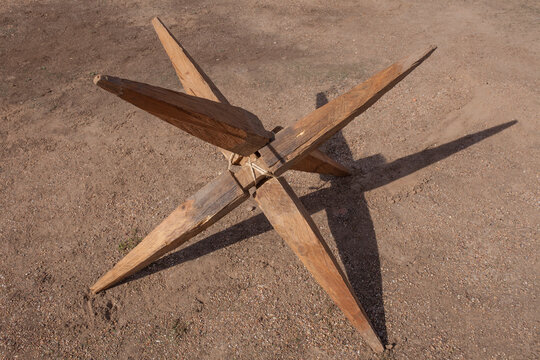 Sudis, ancient roman stake