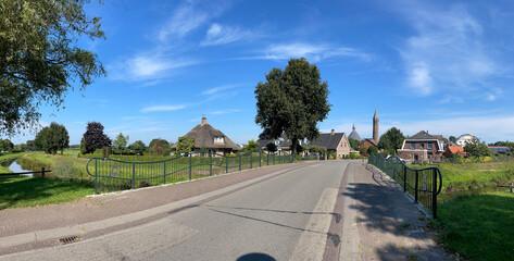 Obraz The village Rietmolen in Gelderland - fototapety do salonu