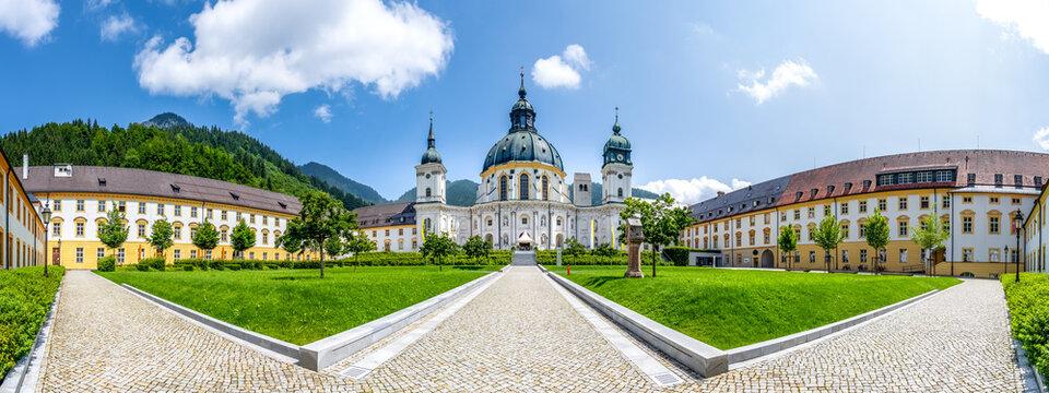 Kloster Ettal, Bayern, Deutschland