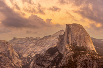 Landscape of Yosemite National Park in USA , au,